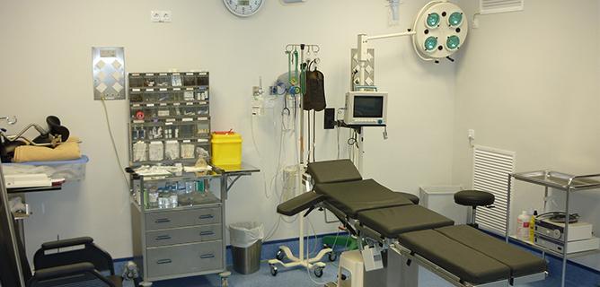 quirofano - La clínica y sus instalaciones - Doctores Povedano