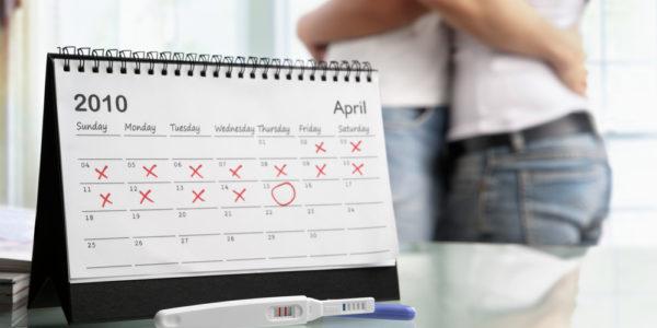 Embarazo durante la menstruación | Días Fértiles